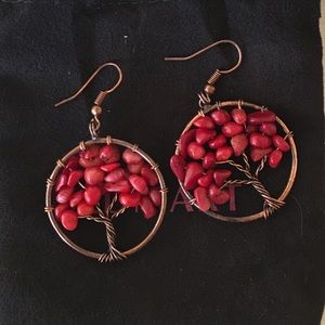 Accessories - Earrings! Tree of Life.